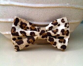 Dog Bow Tie- Cheetah Print