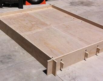 Frame & Panel Camp Bed