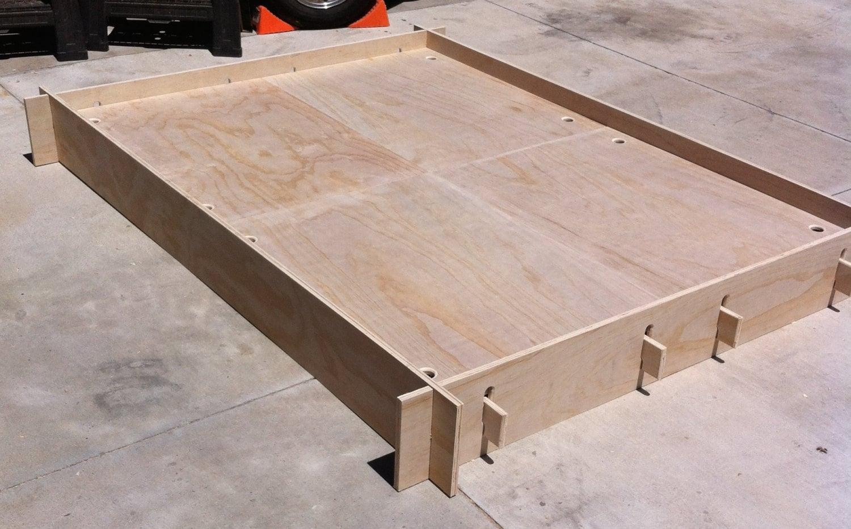 Frame panel camp bed - Camif bed frame ...
