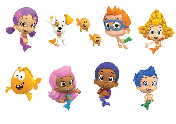 It's just an image of Satisfactory Bubble Guppies Printables