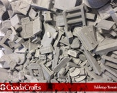 500 Random Bits, Blocks and Accessories - Perfect for Dwarven Forge D&D Pathfinder Warhammer RPG