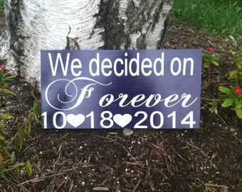 Save the Date  - Engagement Photo Prop - Wedding Gift - Bridal Shower Gift - Love Dates - Important Dates - Wedding Sign - Wedding Decor -