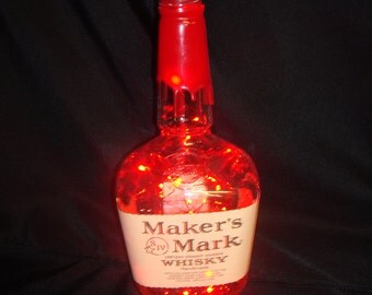 Maker's Mark Whisky LED Light