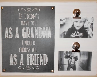 Personalized Keepsake Made From Reclaimed Wood