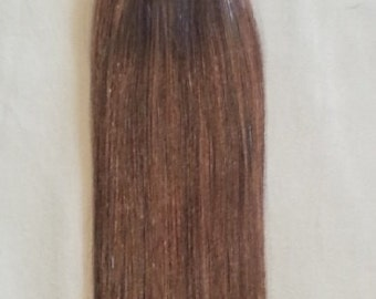 18 inches 100grs,40pcs, Human Tape In Hair Extensions #4 Dark Brown