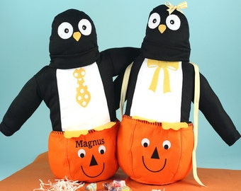 Baby's First Halloween Outfit & Personalized Treat Bag
