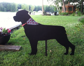 Dog Silhouettes - Yard Decor - Yard Silhouettes - shipping price included