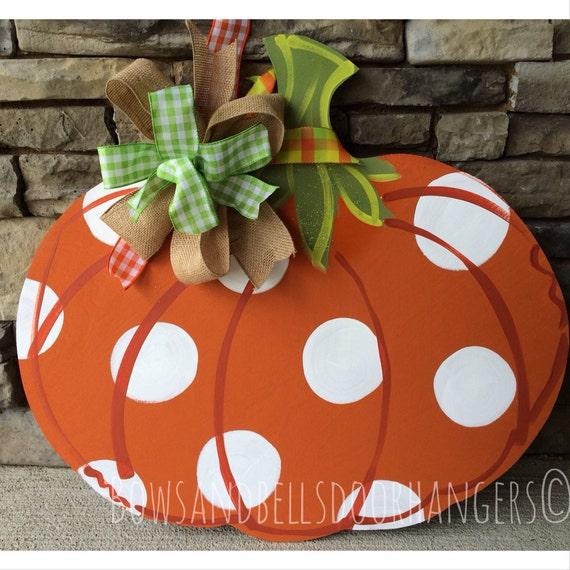 Decorating Ideas > Pumpkin Door Hanger Fall Wreath Fall Door By  ~ 114701_Halloween Door Hangers Printable