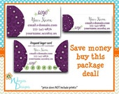 Scentsy Inspired Business Package, Business Card, Direct Sales Marketing, Independant Consultant, Catalog Label, Frequent Buyer Card