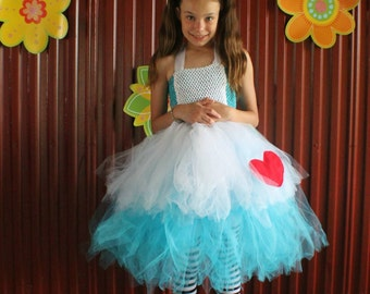 Alice in Wonderland inspired tutu dress  1T-10