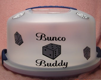 Bunco buddy cake carrier