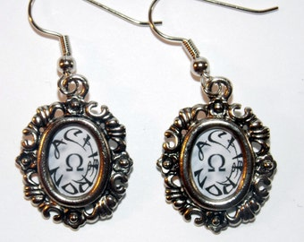 Framed Acheron  Earrings