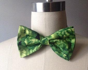 Lettuce Pre-tied Bow tie, Mens bowtie