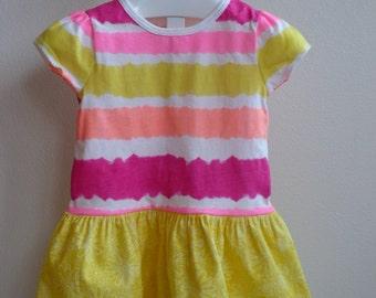 Toddler Girl T-Shirt Dress-Sunshine Dress