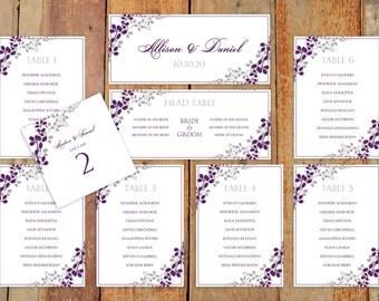 Wedding Seating Chart Template Download by KarmaKWeddings ...