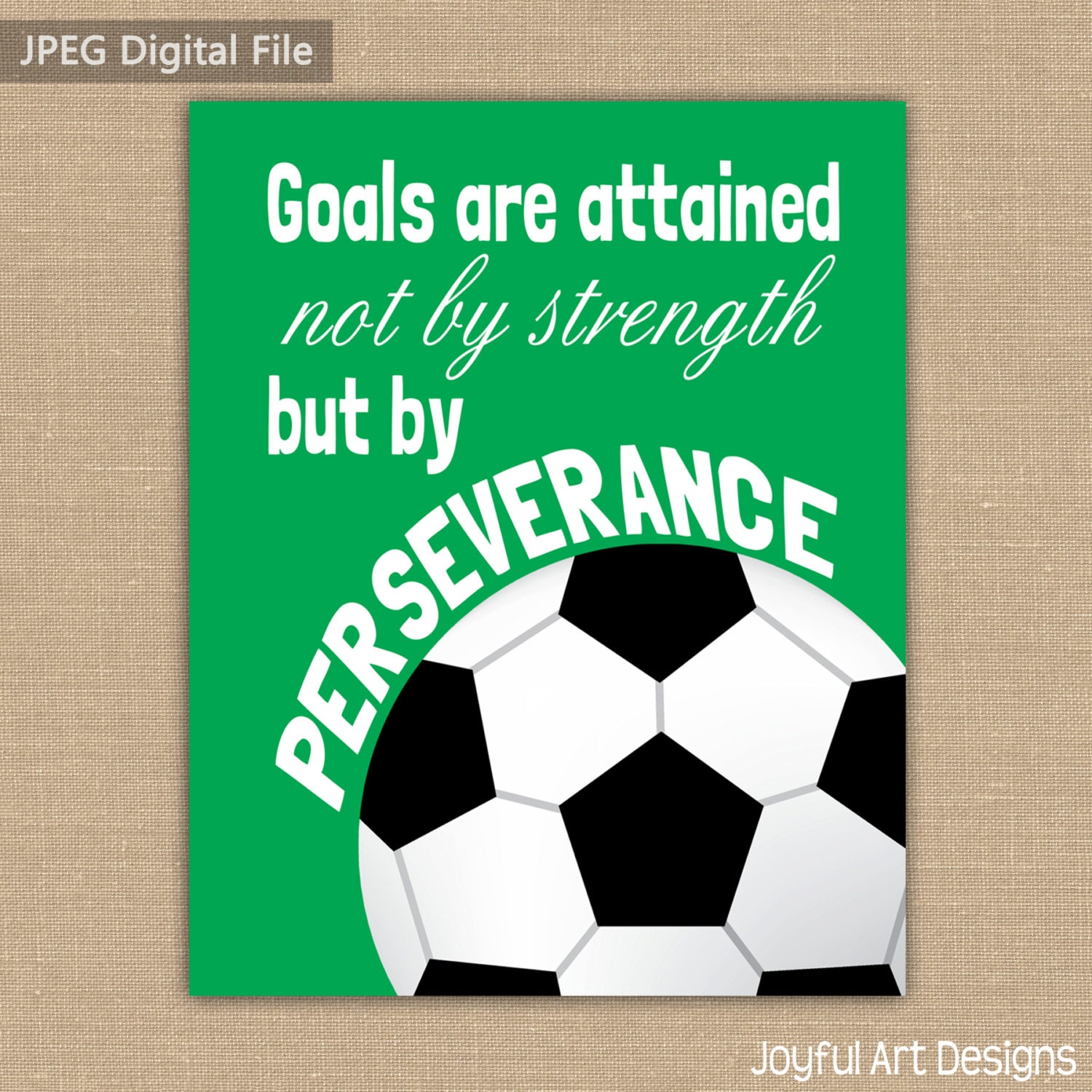 Soccer Bedroom Decor Motivating Soccer Quote Printable Signs Sports Decor Soccer
