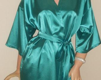 Teal robe | Etsy