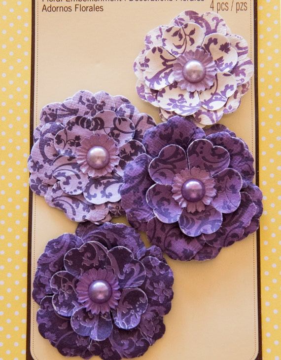 items similar to recollections paper flower embellishments