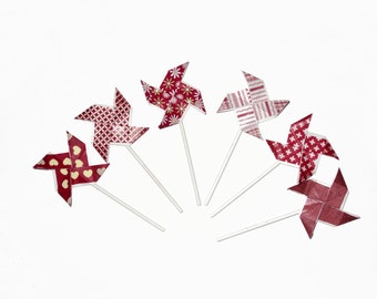 """Mills """"Cake toppers"""" - pack of 6 - decoration for cake (approx 11 cm)"""