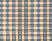 """3 Colors Lee Jofa France """"Petite Etoile"""" Check Cotton Linen Fabric"""