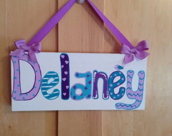 Children's Custom Door Sign