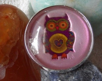 "Ring - ""Psychedelic Owl"""