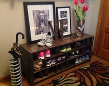 Unique Shoe Storage Related Items Etsy