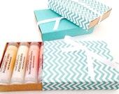 Macaron Lip Balm Gift Set - Choose 6 from 10 Flavors - French Macarons - Creamy Macaron Flavored Lip Balms - 100% Vegan