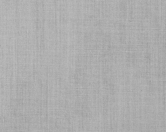 """45"""" Silver Broadcloth Fabric - By The Yard"""