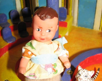 Vintage German Baby Doll / Puppe - Hand Made Clothes