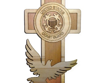 COAST GUARD cross 7""