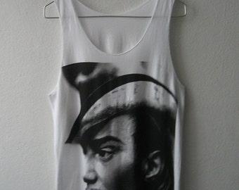 JohnGalliano fashion legend goth rock tank top vest M