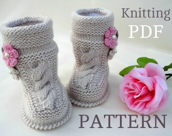 Free Knitting Pattern For Baby Tennis Shoes : shoes   Etsy