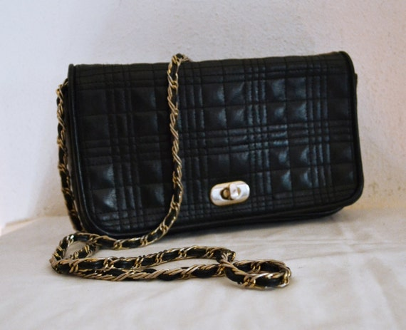 Free Shi Quilted Purse Faux Leather Purse Shoulder Bag