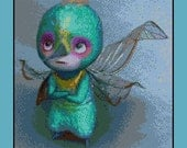 Cross stitch pattern - Baby tooth - Rise of the guardians - Instant Download!
