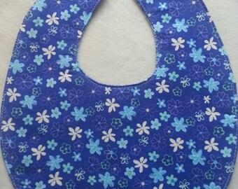 Flowers Reversible Waterproof Bib
