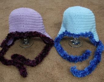 Fuzzy Ear Flap Hat