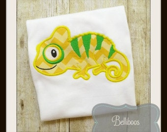 Chameleon Applique - Chameleon Embroidery Design - Lizard Applique - Lizard Embroidery Design - Embroidery Design - Applique Design