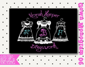 Shabby Chic Decor / Shabby Chic Nursery Decor / Custom Shabby Chic Monogram / Shabby Chic Monogram / Vintage Style / DIGITAL / Nursery Art