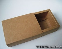 "10pcs - 350gram Kraft paper slider Box - 3.6""(L) x 2.4""(W) x 16""(H) *KB004*"