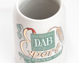 SALE 1937 Beer Mug