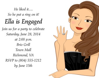 Engagement Party/Bridal Shower Invitation
