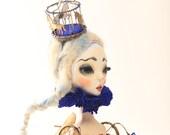 Hat For Dreaming - art doll