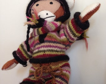 Monkey in Knitware