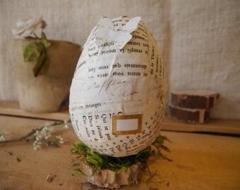 Home made easter egg for home decor n1