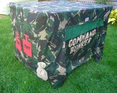 Childrens FoldAway Play Den  Army Command Bunker