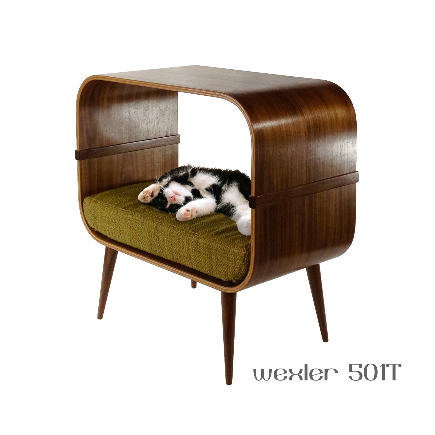 mid century modern cat furniture