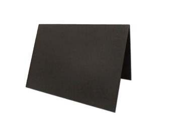 Black Place Cards 25 pack