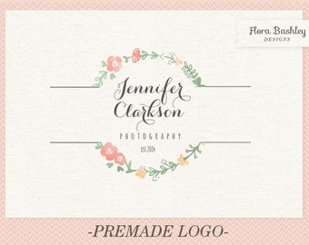 Custom Logo Design and Watermark - Premade  FB105