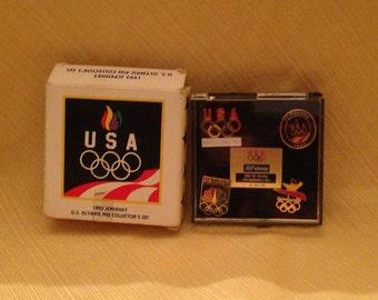 Barcelona Olympic pin set